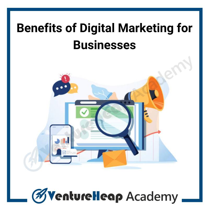 Benefits of digital marketing