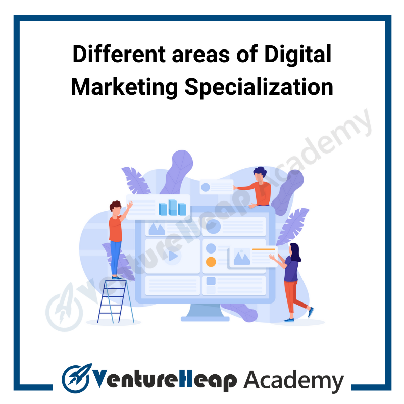 areas of Digital Marketing Specialization