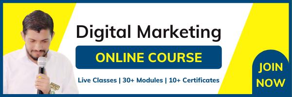 Digital Marketing Classroom Online Course