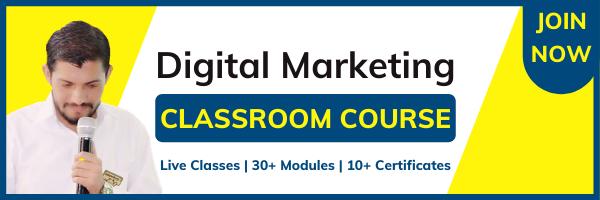 Digital Marketing Classroom Course in Jaipur