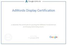 Google Ad Display Certification