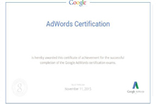 Google Ad Fundamentals Certification