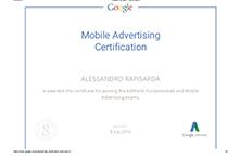 Google Mobile Ad Certification