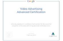 Google Video Ad Certification